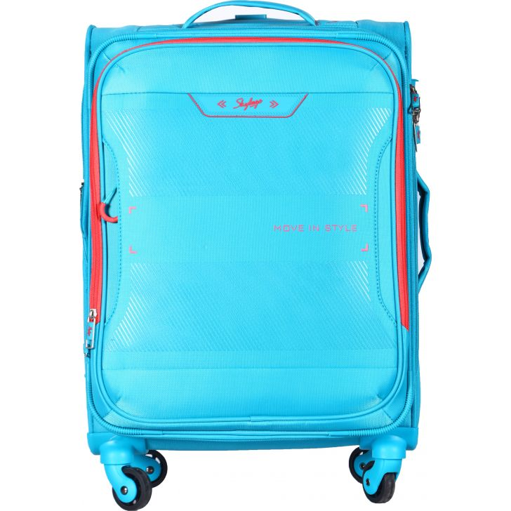 SKYBAGS XPANSE PolYester Soft Trolley in Blue Colour by SKYBAGS