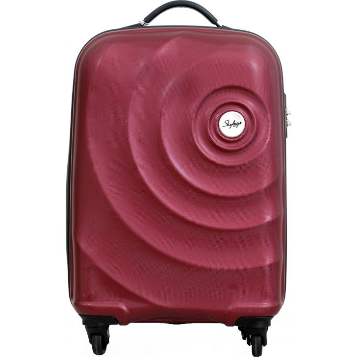 Skybags Mint Hard Trolley 55 cm Hard Trolley (Red)