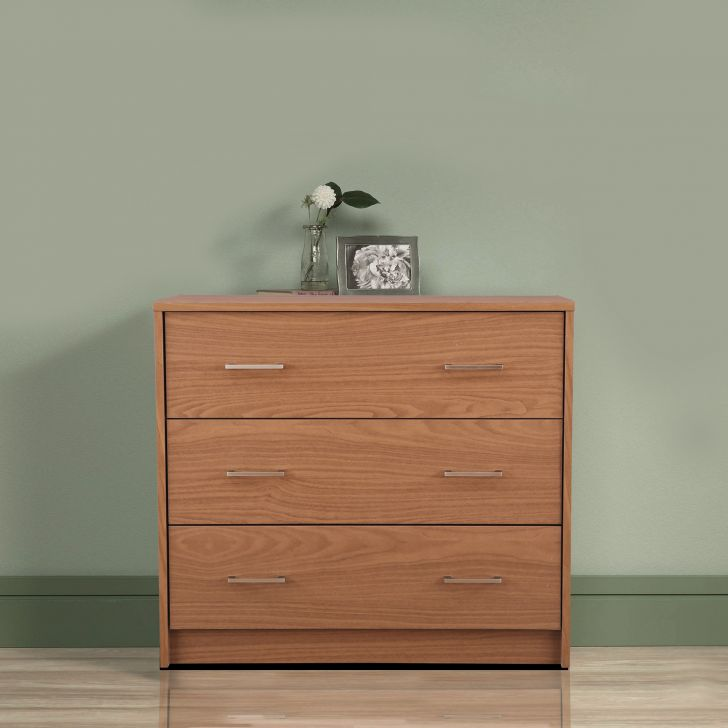 Atlas Engineered Wood Multipurpose Cabinet in Walnut Colour by HomeTown