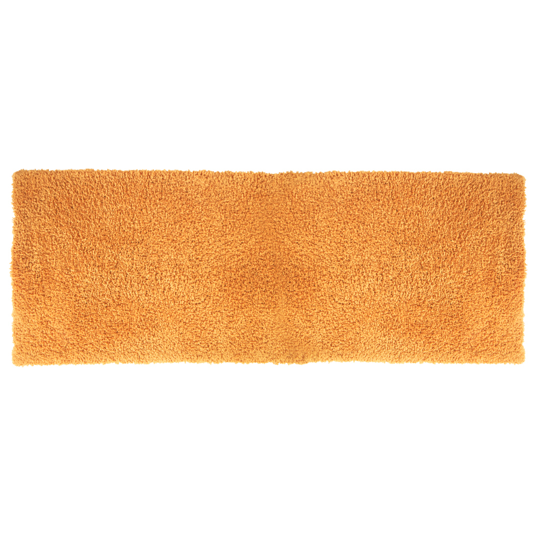 Nora Chenille Bath Mats in Mustard Colour by Living Essence