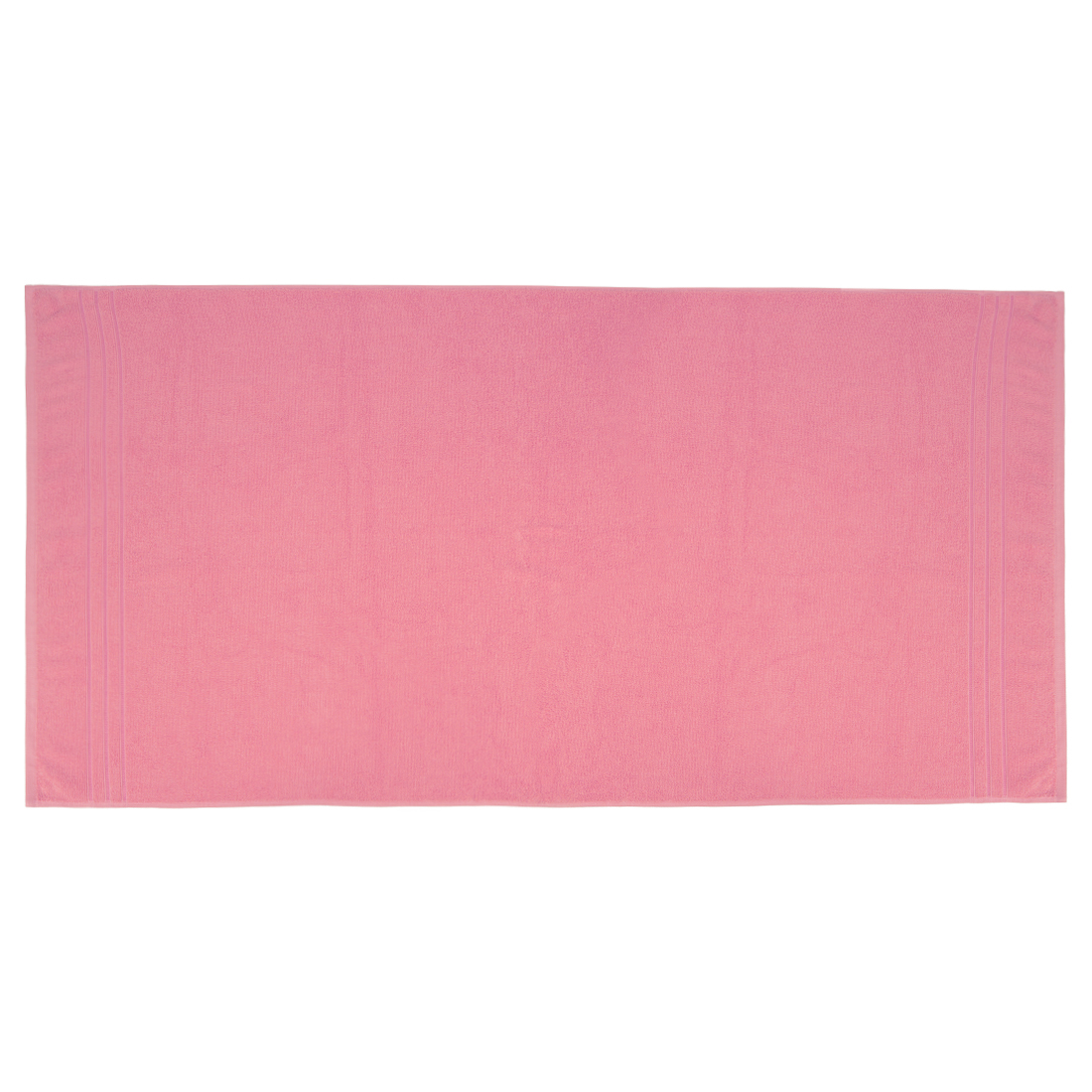 Bath Towel Nora Rose Cotton Bath Towels in Rose Colour by Living Essence