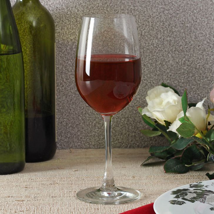 5015R1502 WINE STM MAD REDWINE 15OZ 2PCS Glass Glasses & Tumblers in Glass Colour by Ocean