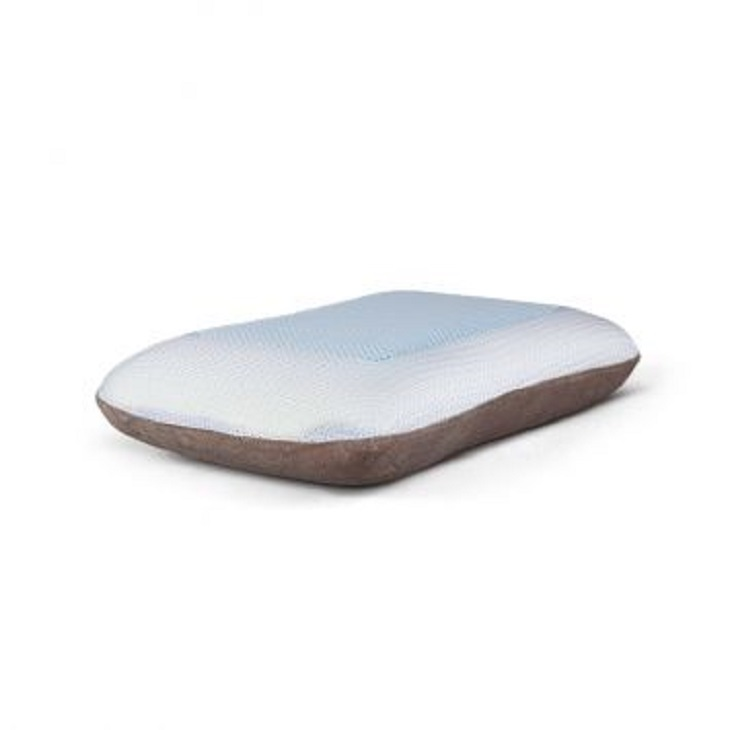Gel Memory Foam Pillow Mini  in White Colour by Living Essence