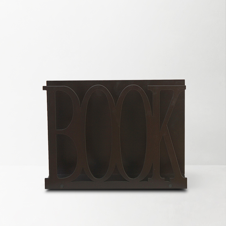 Tara Engineered Wood Magazine Racks in Wenge Colour by HomeTown