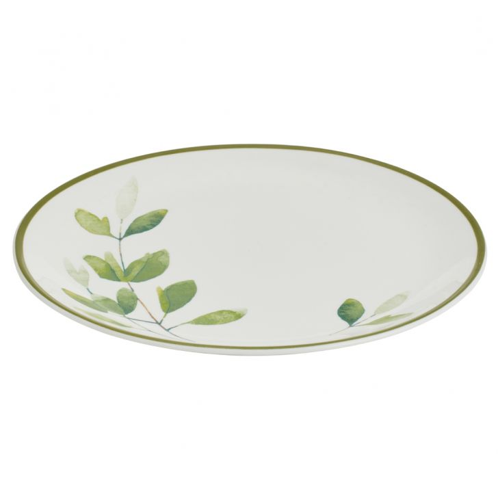 Petite Petals Dinner Plate Ceramic Plates in Multi Color Colour by Living Essence