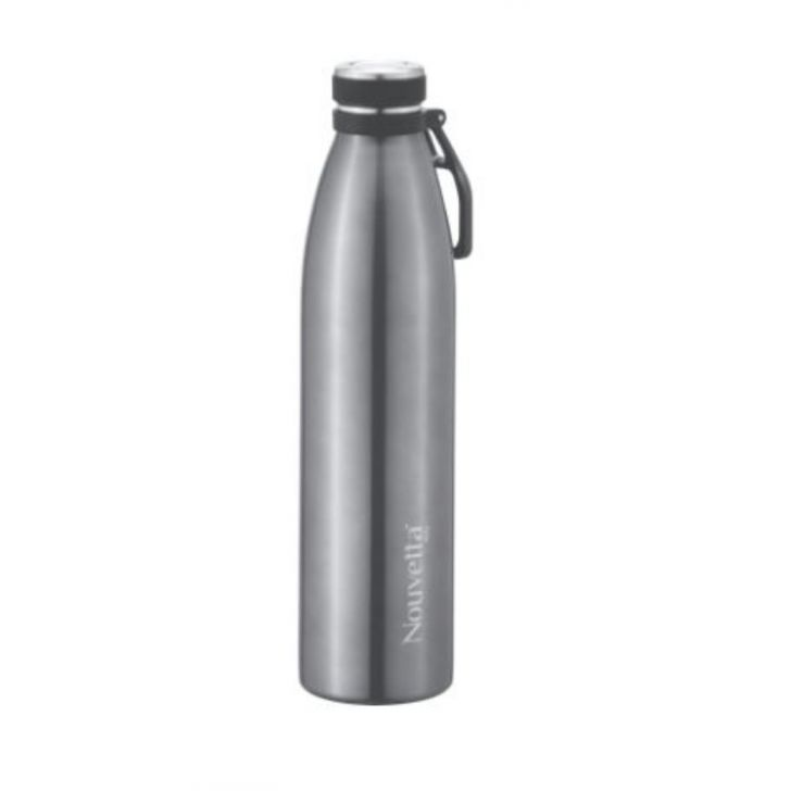 Nouvetta Cosenza Steel bottle Double Wall 500 ML Coolgrey Stainless steel Thermoware in Coolgrey Colour