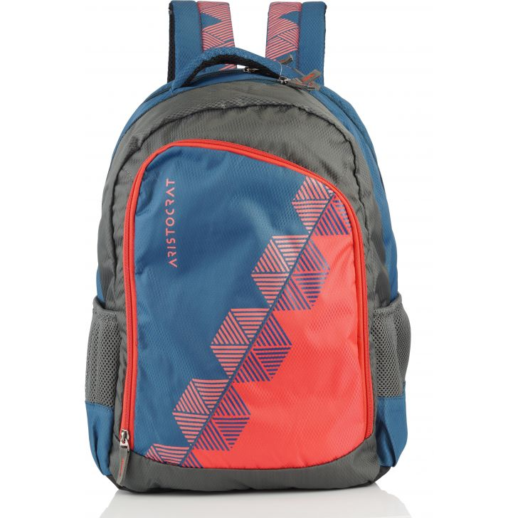 Aristocrat Winner PRO 1 Backpack (Blue-Coral)