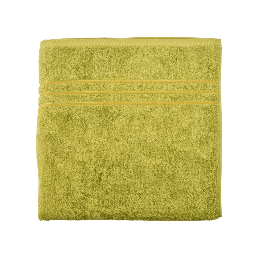 Nora Combed Cotton Bath Towels in Zest Colour by Living Essence