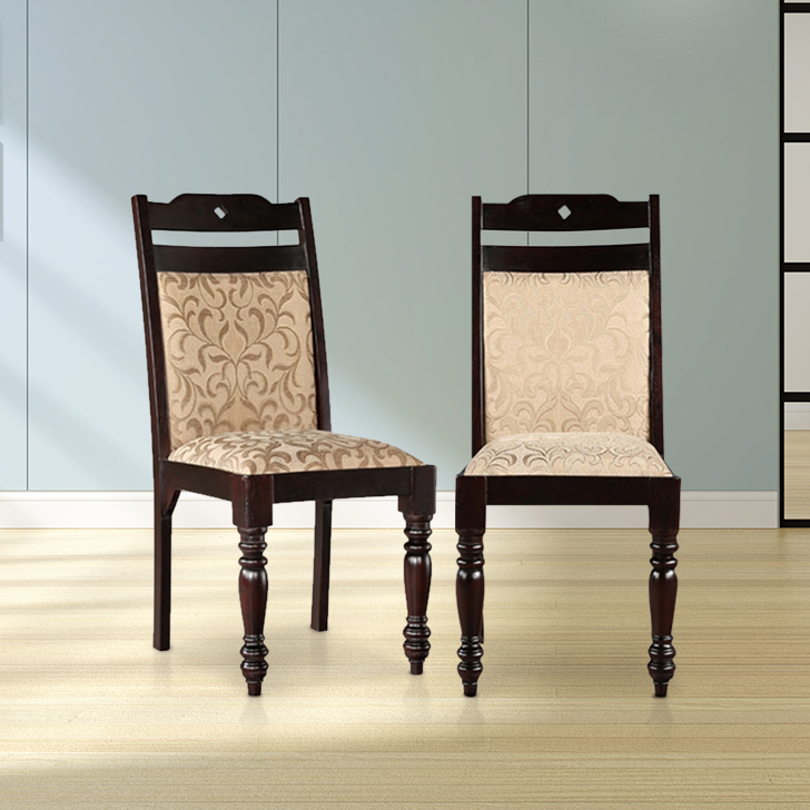 Baylor Solid Wood Dining Chair Set of Two in Dark Expresso Colour by HomeTown