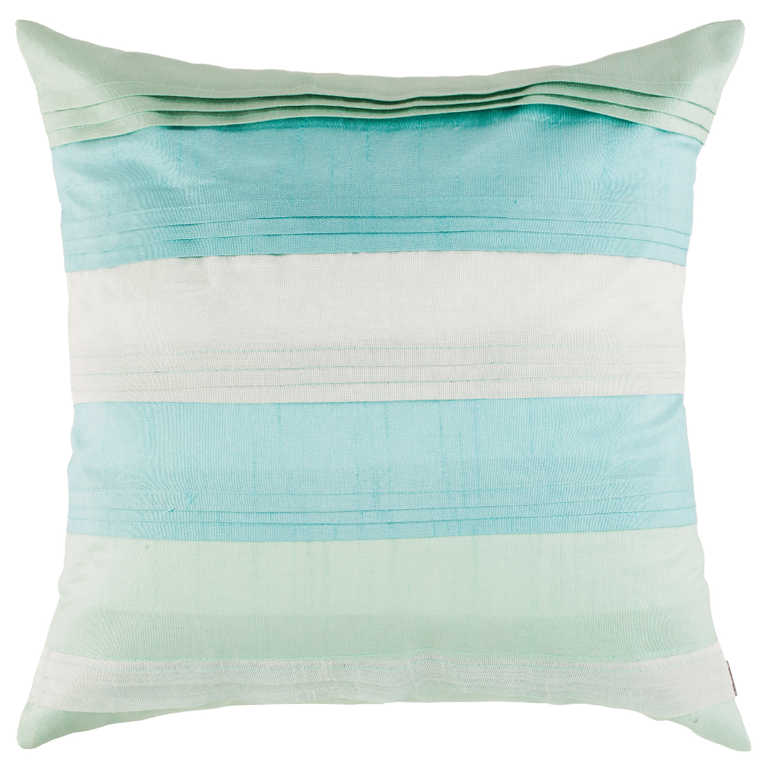 Milo Polyester Cushion Covers in Mint Colour by Living Essence