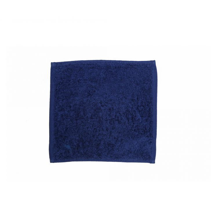 550 GSM Embedded Stripe Cotton Face Towel in Blue Colour by from Maspar at www.hometown.in