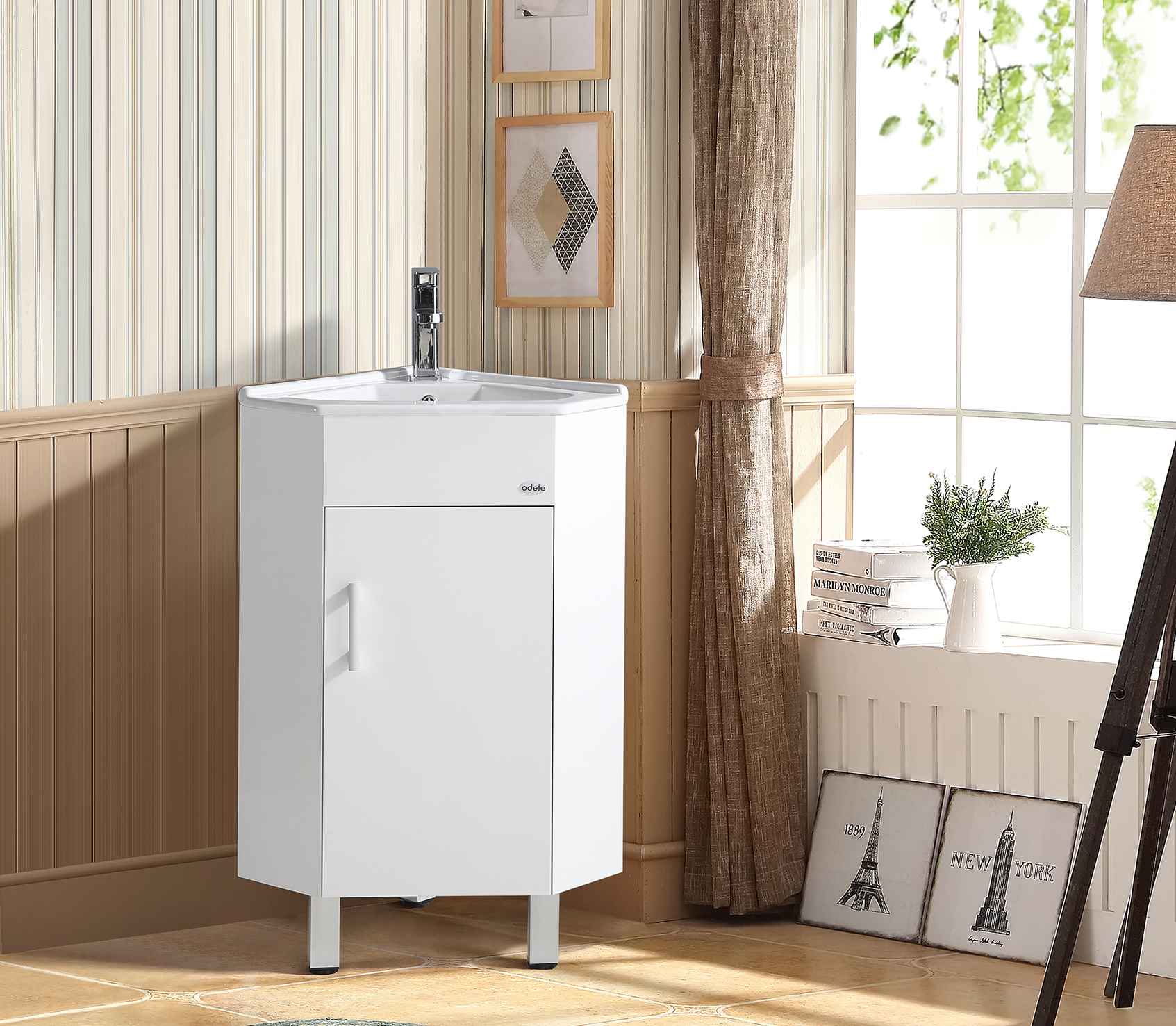 Poise Bath Vanity in White Colour by HomeTown