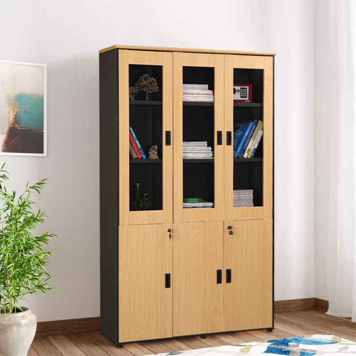 Ascent Engineered Wood Office Storage in Cabinet Colour by HomeTown