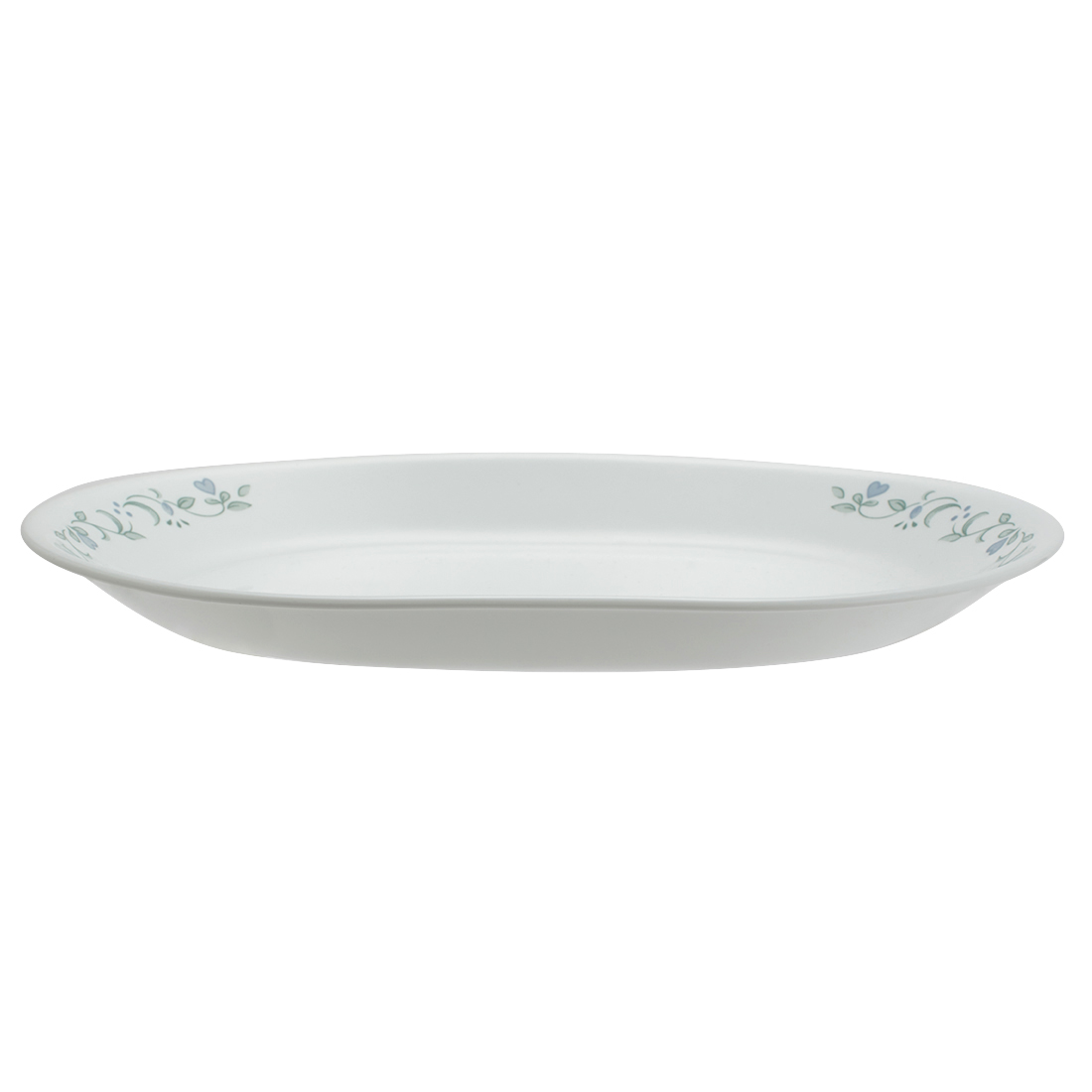 Corelle Country Cottage Serving Platter Vitrelle Platters in White Colour by Corelle
