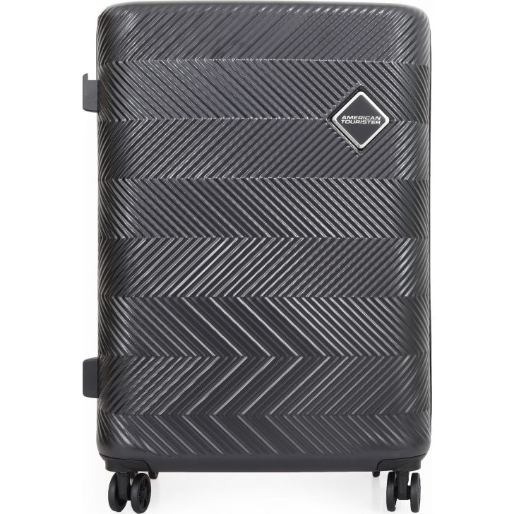 American Tourister Bayview Hard Trolley 56 cm  (Black)