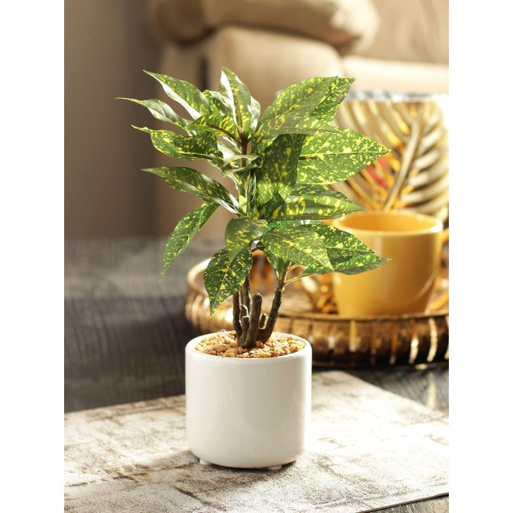 Sage Artificial Plant in Green Colour by Living Essence
