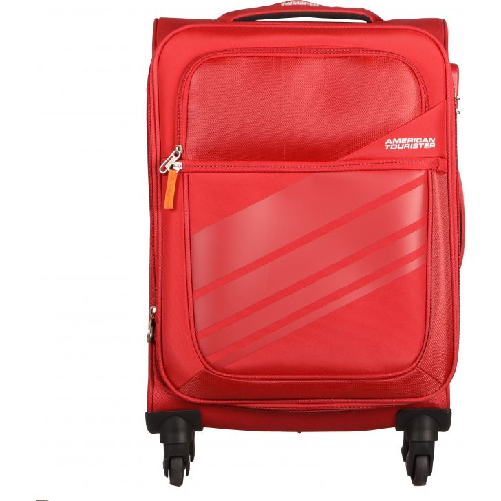 American Tourister Stirling Spinner Soft Trolley 56 cm (Red)