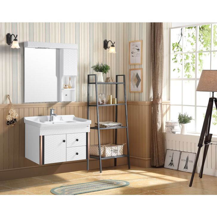 Baltica Bath Vanity in White Colour by HomeTown