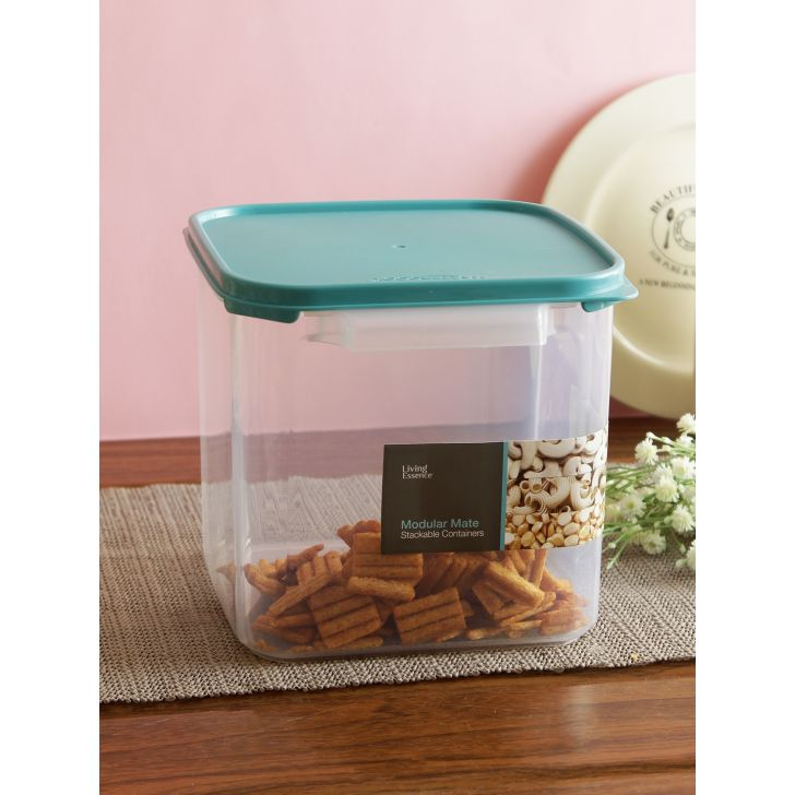 Plastic Container in Transparent Colour by Living Essence