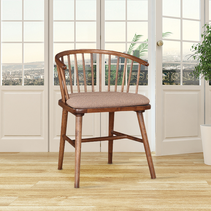 Orion Solid Wood Outdoor Chair in Antique Cherry Color by HomeTown
