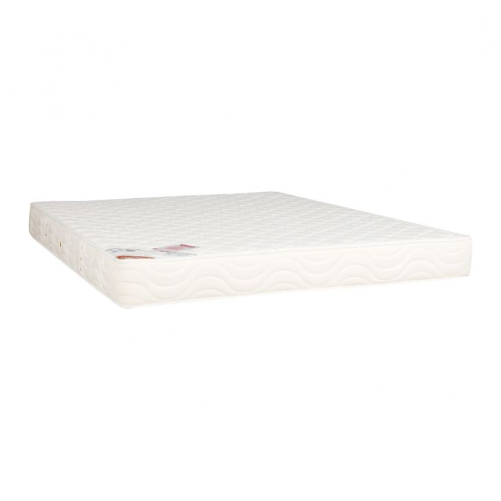Mattress Comfort Plus Bonnell Spring King Bed (78*72*6) in Cream Colour by HomeTown