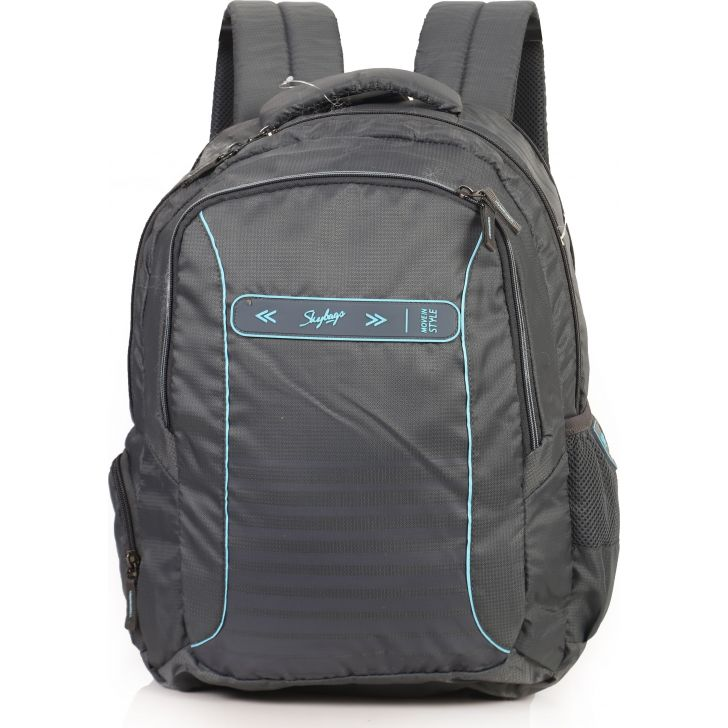 Skyabgs Fox Plus Laptop Backpack (Grey)