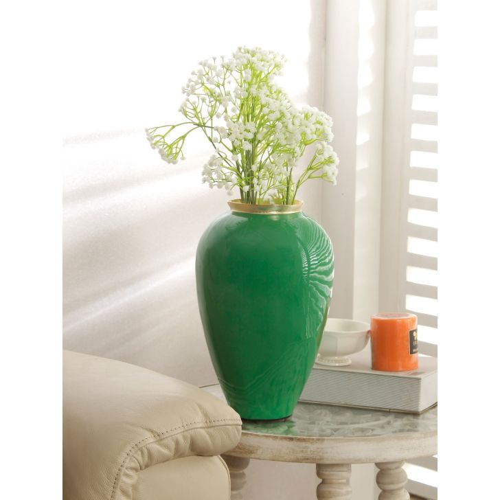 Groot Bamboo Vase in Green Colour by HomeTown