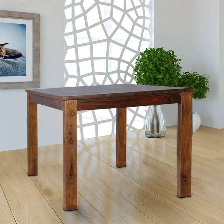 Java Sheesham Wood(Rosewood) 6 Seater Dining Table in Light Brown Colour