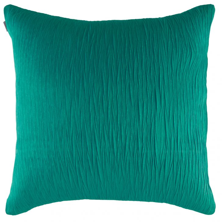Blossom Polyester Cushion Covers in Teal Colour by Living Essence