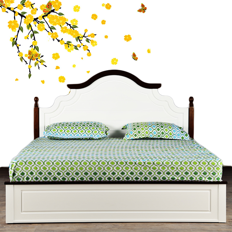 Cotton Double Bed Sheets by Living Essence
