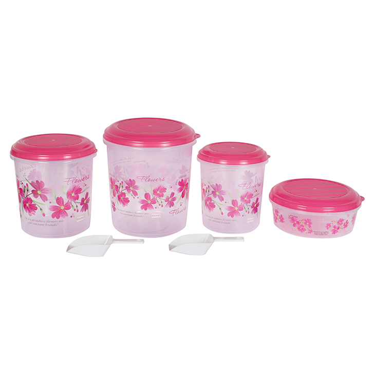 Galaxy 6 Pcs Food Container Set Plastic by Polyset