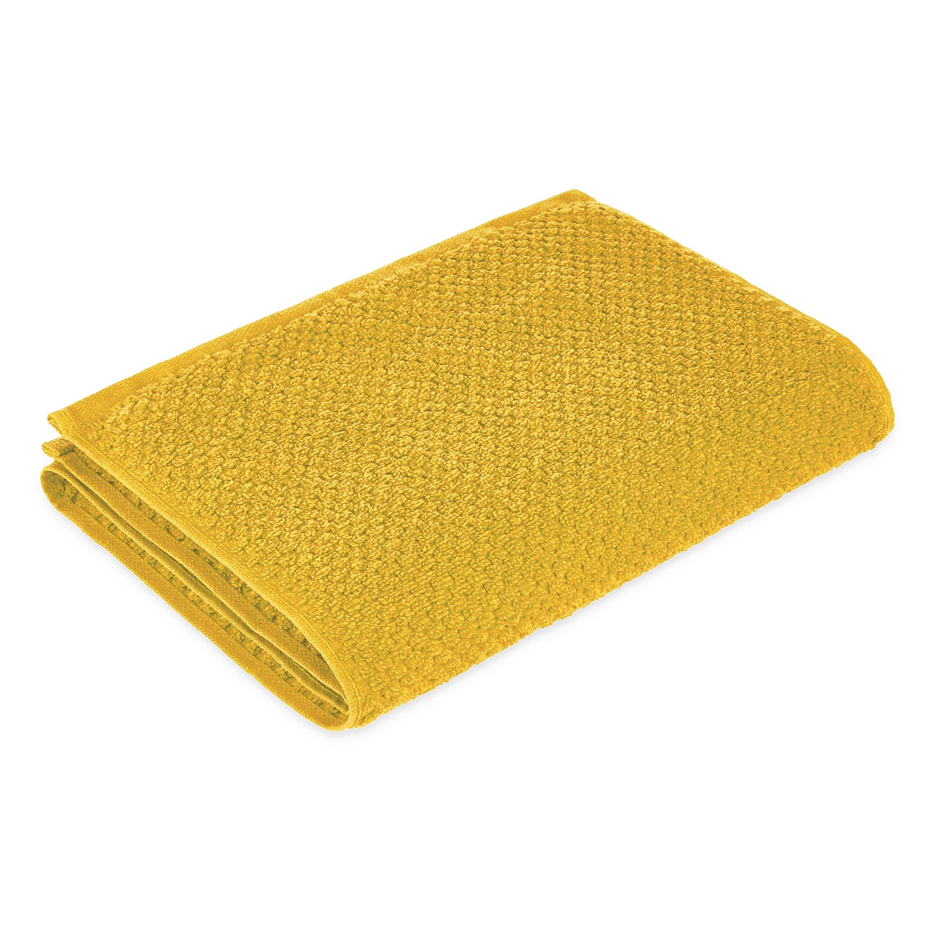 Spaces Atrium Cotton Double Bed Sheets in Sunflower Colour by Spaces