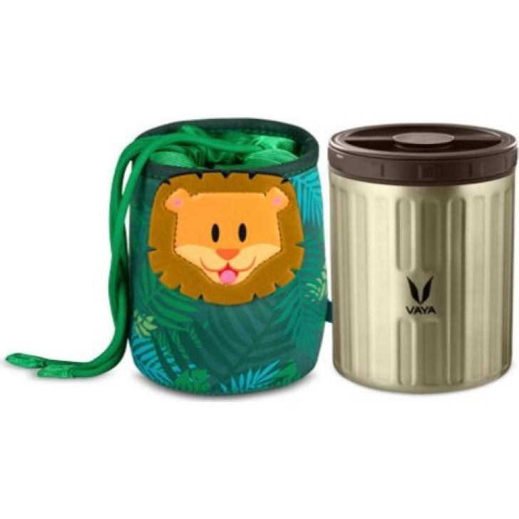 Simba Theme Stainless steel Preserve LunchKit ( 500 ml) in Graphite Colour