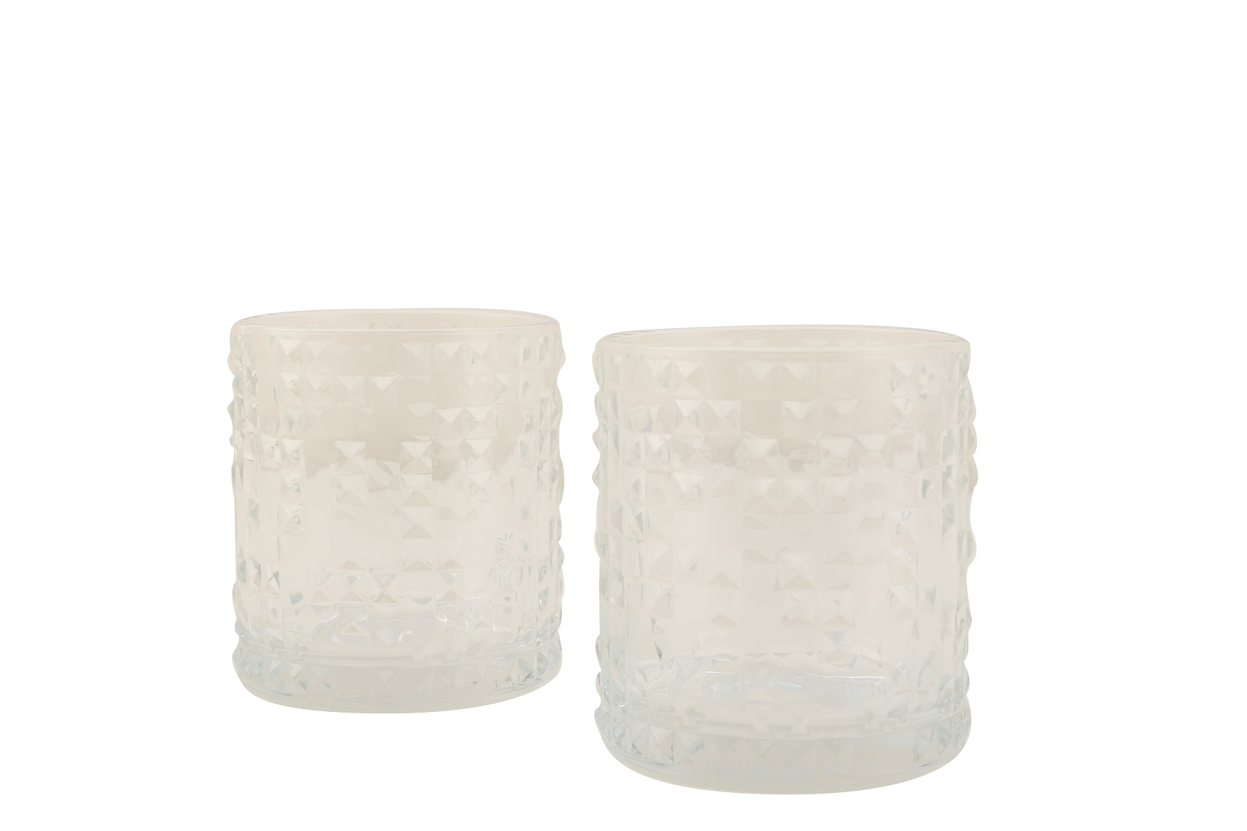 Glacier Whisky Tumblers Set Of Six Glass Glasses & Tumblers by HomeTown