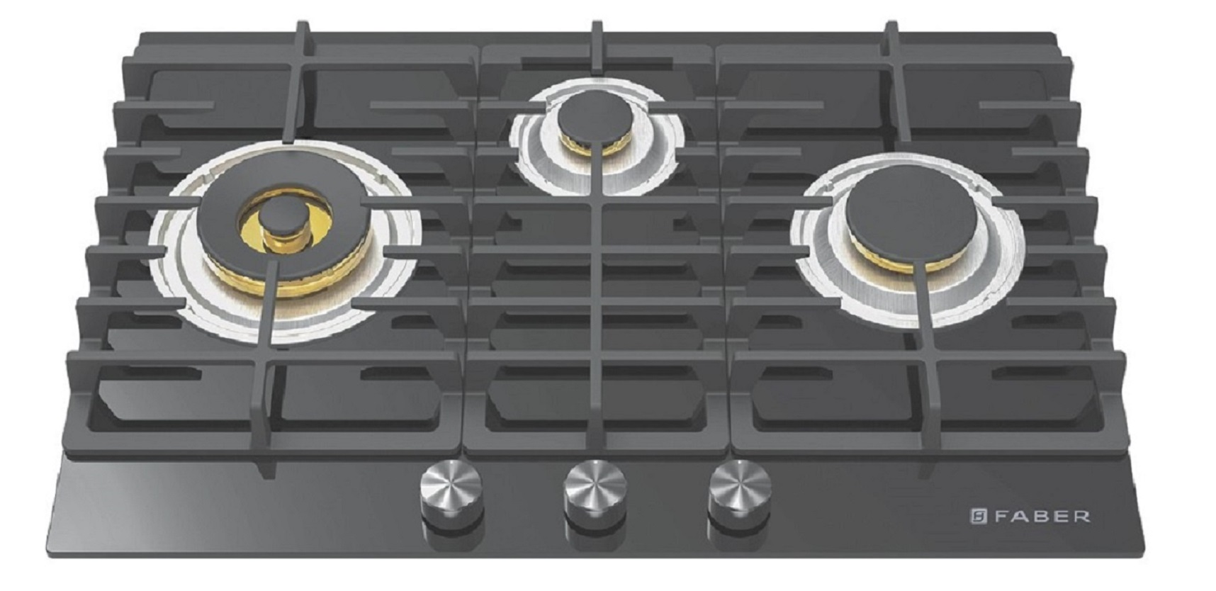 Faber Stainless steel Built- In-Hob Gas FPH 783 BK by HomeTown