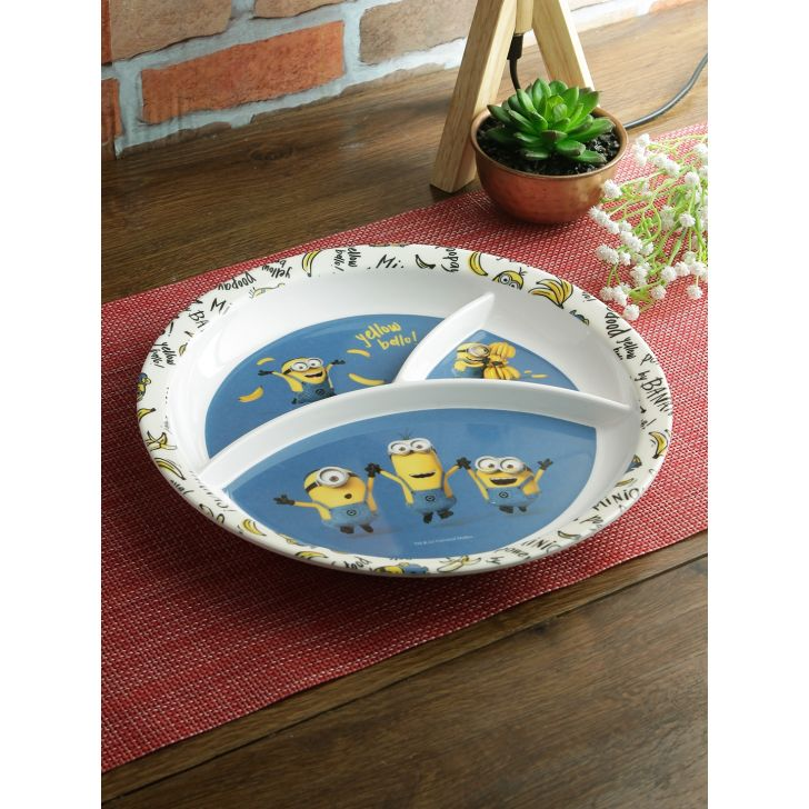 3 Partition Plate Round Minions