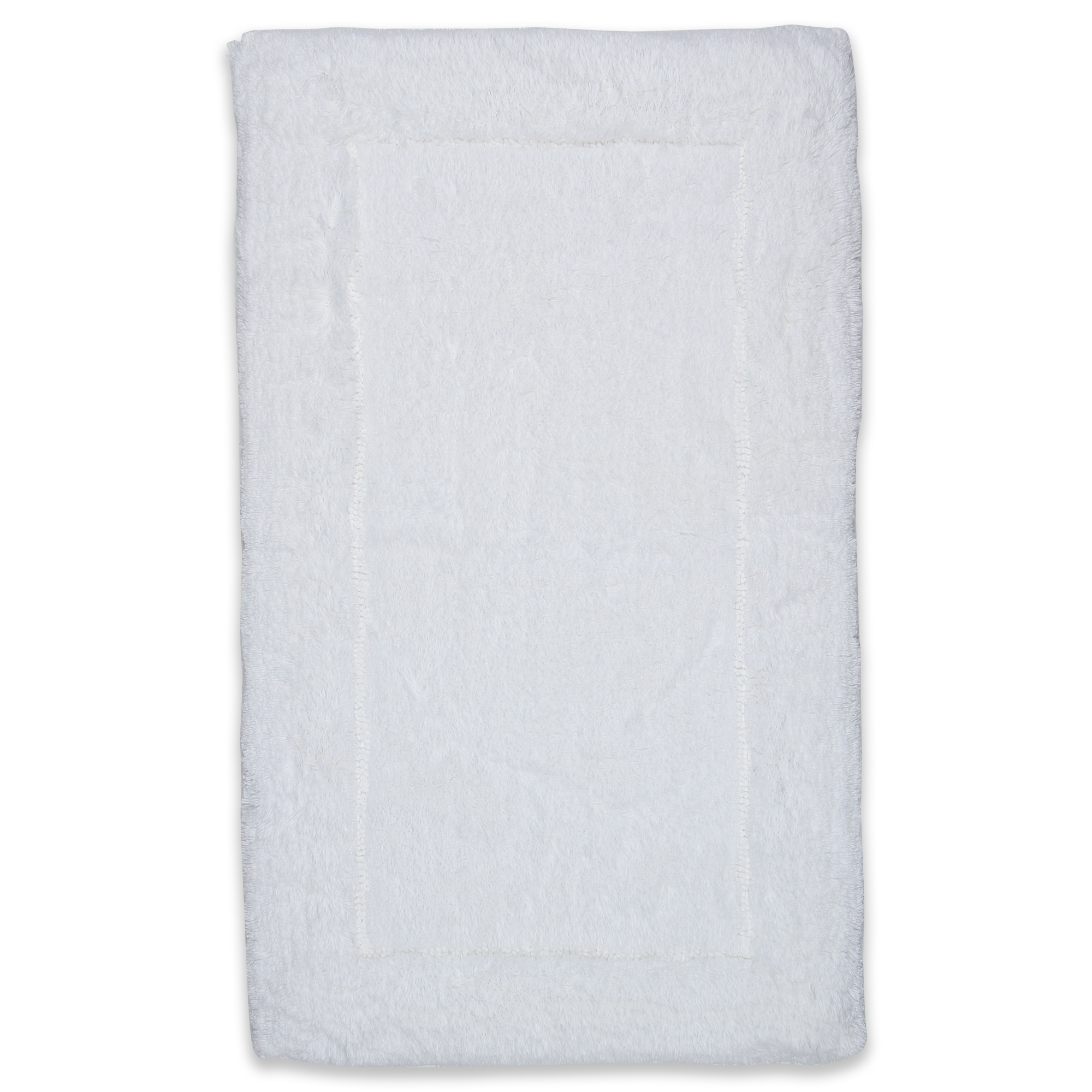 Spaces Hygro White Cotton Mat Small Cotton Bath Mats in White Colour by Spaces