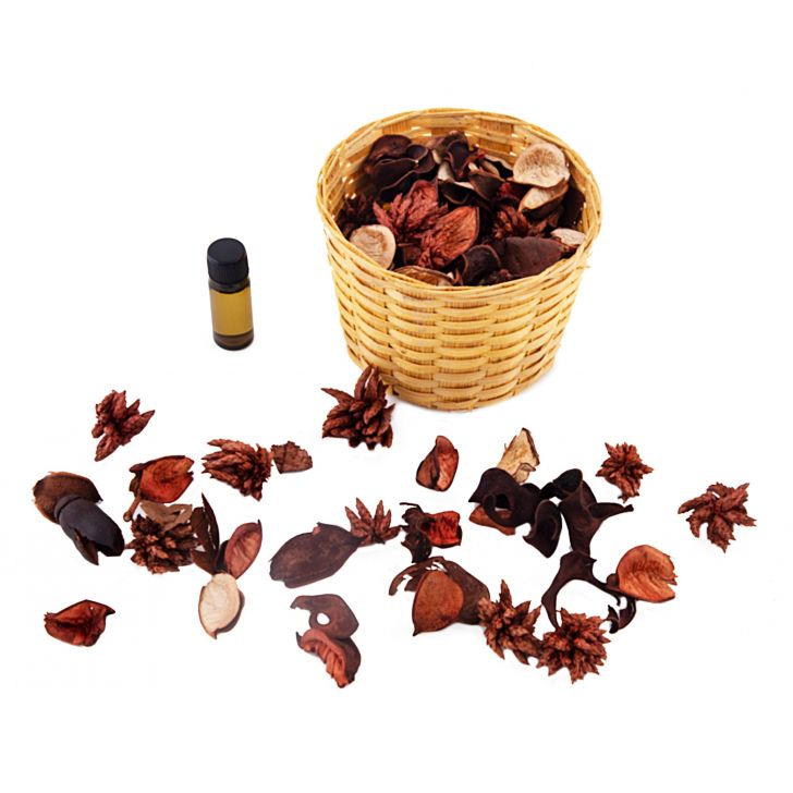 Iris Ripple Potpourri Apple Cinnamon Mood Uplifting, Relaxant Fragrance Home Fragrances in Green Colour by HomeTown