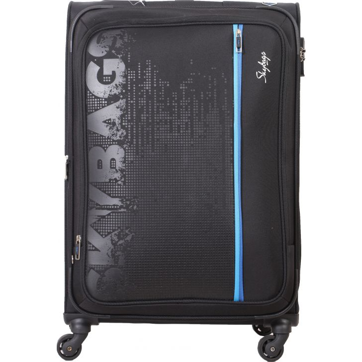 Skybags Zillion Spinner 71 cm Soft Trolley (Charcoal Black)