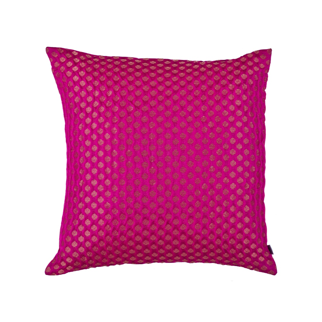 Noir Cushion Cover Pink Polyester Cushion Covers in Pink Colour by Living Essence