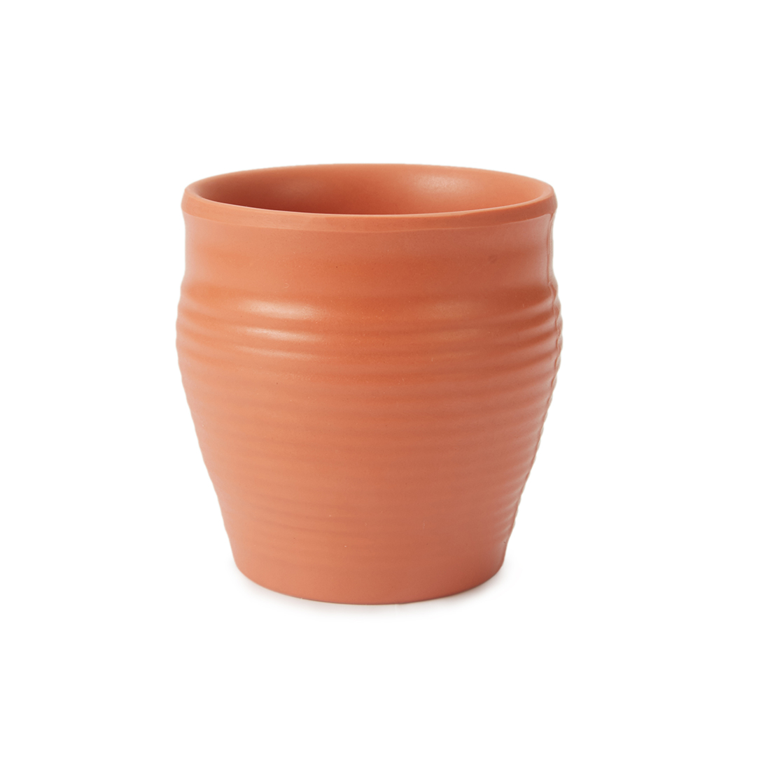 Terracotta Kullad Coffee Mugs in Brown Colour by Living Essence