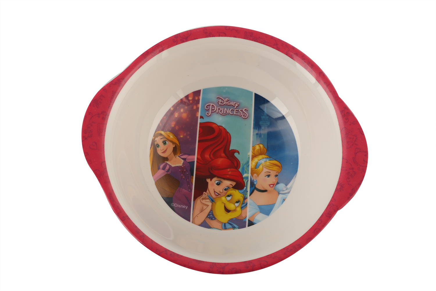 SW Kids Bowl with Handle Princess Soup Bowls in Multicolor Colour by Servewell
