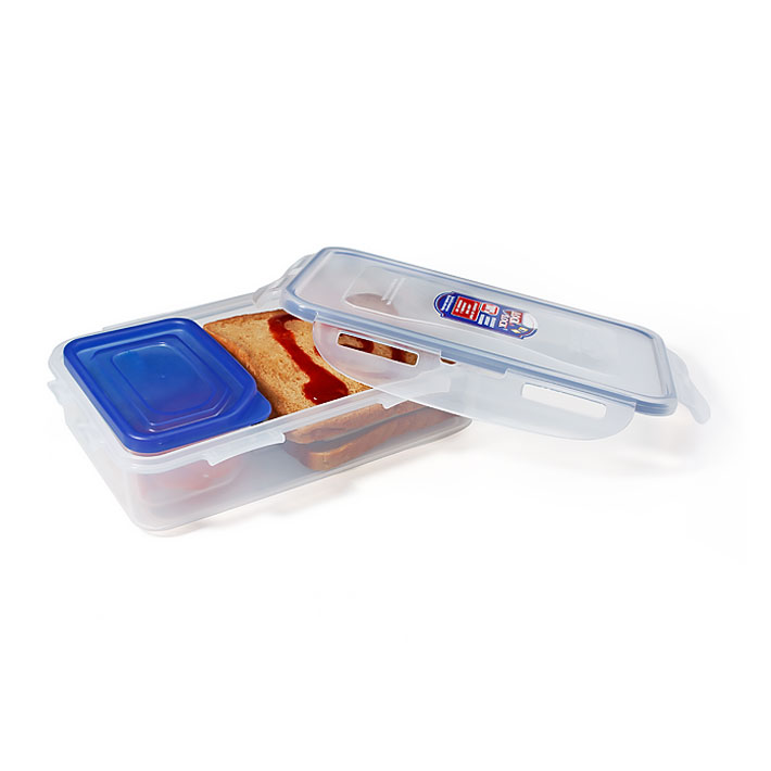 Lock N Lock Plastic Thermoware in Clear Colour by Lock & Lock
