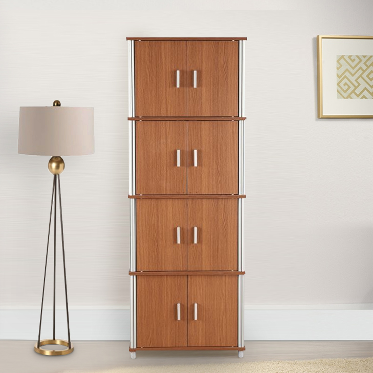 Jacob Engineered Wood Office Storage in Oak Colour by HomeTown