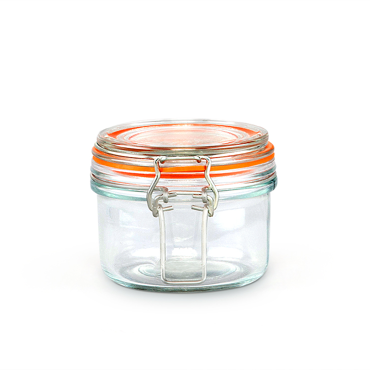 Navigator New Tube Clip Jar 125 ml Containers by Living Essence