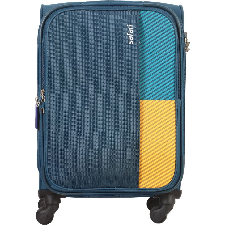 Safari Shrill Hard Trolley 59 cm (Teal)
