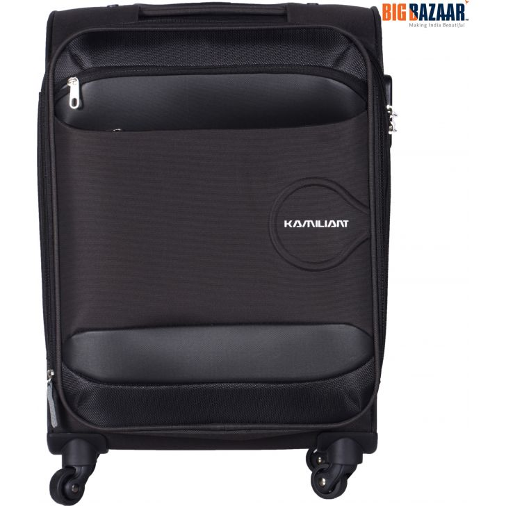 KAM ONI PolYester Soft Trolley in Brown Colour by Kamiliant by American Tourister