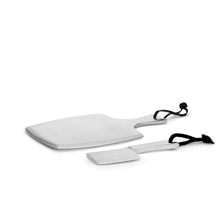 Cheese Paddle With Knife Kitchen Tools by Living Essence