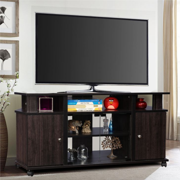 Lynton Engineered Wood TV Unit in Brown Colour by HomeTown