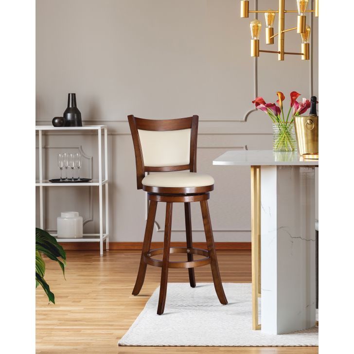Jameson Solid Wood Breakfast & Barstool in Dark Walnut Colour by HomeTown